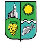 Ábrahámhegy település címere