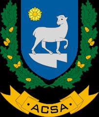 Acsa település címere