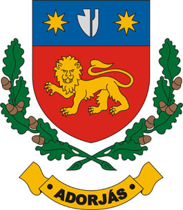 Adorjás település címere