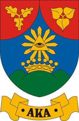 Aka település címere