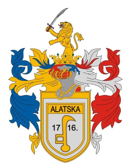 Alacska település címere