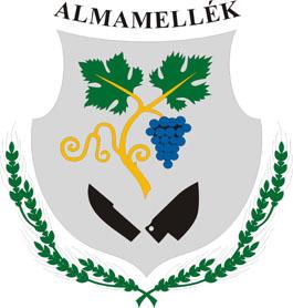 Almamellék település címere