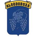 Alsódobsza település címere