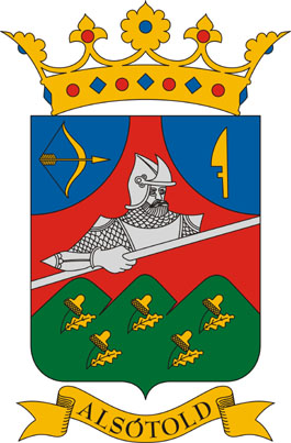 Alsótold település címere