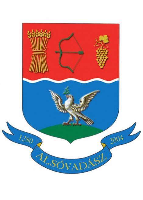 Alsóvadász település címere