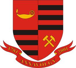 Annavölgy település címere