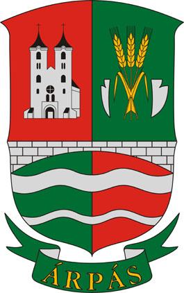 Árpás település címere