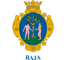 Baja település címere