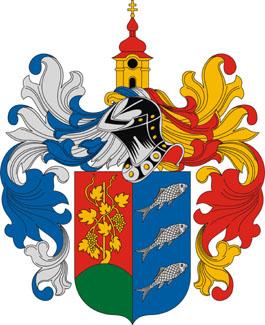 Balatonkeresztúr település címere