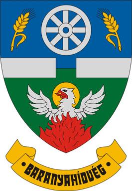 Baranyahídvég település címere