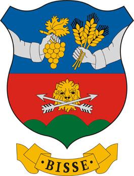 Bisse település címere