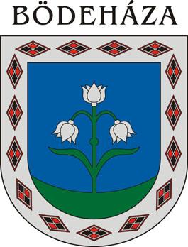 Bödeháza település címere