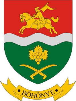 Böhönye település címere