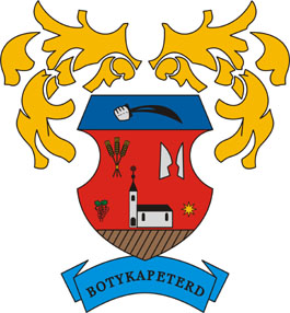 Botykapeterd település címere