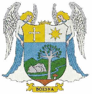 Bózsva település címere