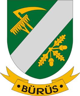 Bürüs település címere