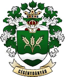 Cégénydányád település címere