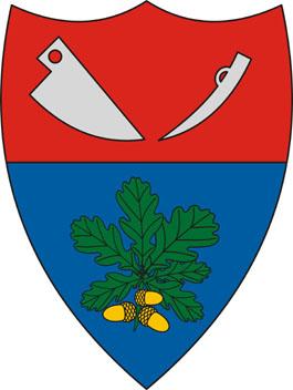Cered település címere