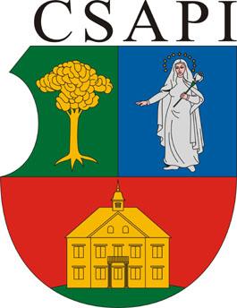 Csapi település címere