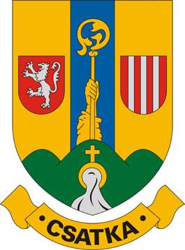 Csatka település címere