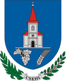Csehi település címere