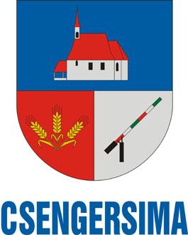 Csengersima település címere