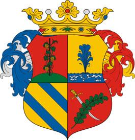 Cserkeszőlő település címere