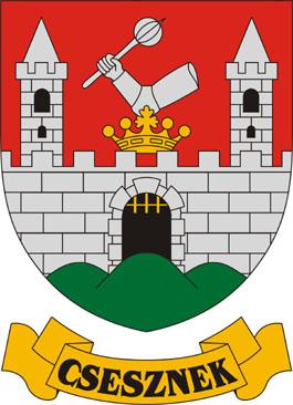 Csesznek település címere