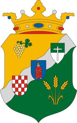 Csikéria település címere