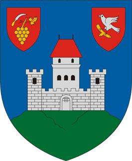 Csókakő település címere