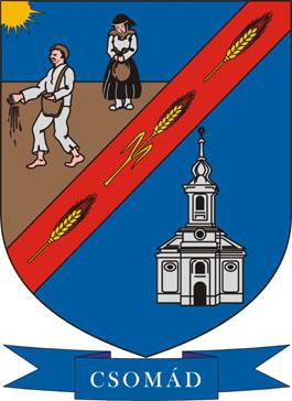 Csomád település címere