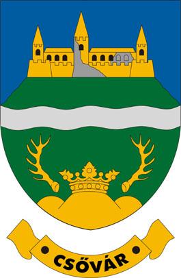 Csővár település címere