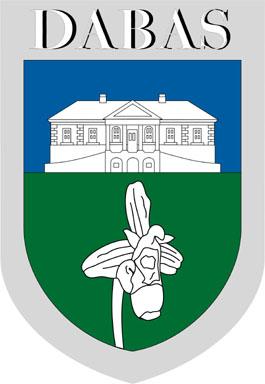 Dabas település címere