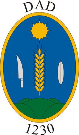 Dad település címere