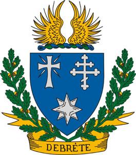 Debréte település címere