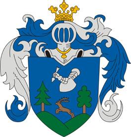 Diósjenő település címere