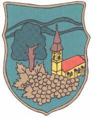 Dióskál település címere