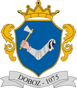 Doboz település címere