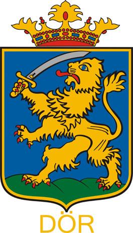 Dör település címere