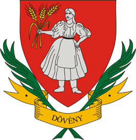 Dövény település címere
