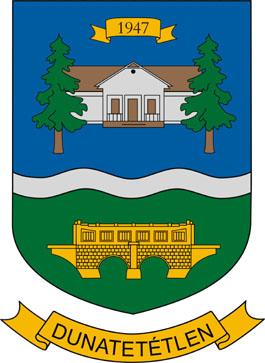 Dunatetétlen település címere