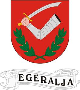 Egeralja település címere
