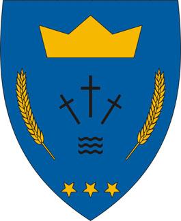 Egyházasdengeleg település címere