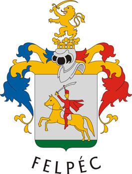 Felpéc település címere
