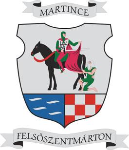 Felsőszentmárton település címere