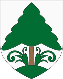 Fenyőfő település címere