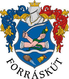 Forráskút település címere