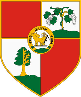 Gánt település címere