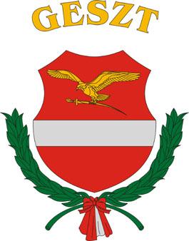 Geszt település címere