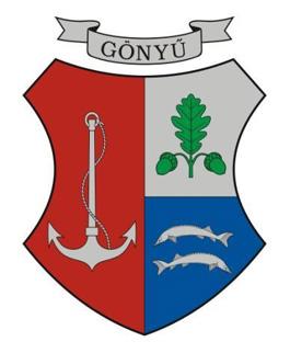 Gönyű település címere